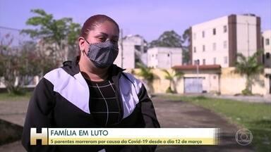 Filha de Rosana Aparecida diz que mãe pegava muitos transportes públicos - Filha conta que Rosana Aparecida ia a muitos médicos e pegava diversos transportes públicos. Ela acredita que pegou a doença num desses lugares.