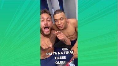Neymar continua on!!! E o PSG vai à final da Liga dos Campeões pela primeira vez - Neymar continua on!!! E o PSG vai à final da Liga dos Campeões pela primeira vez