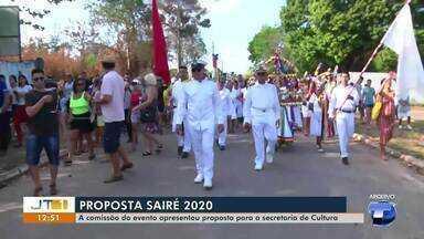 Comissão do Sairé religioso envia proposta para Secretaria de Cultura - Grupo pede a realização do evento religioso.