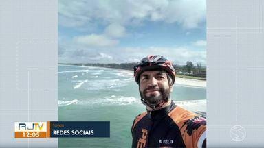 Policial militar morre atropelado na Rio-Santos, em Paraty - Wellington Félix Souza estava andando de bicicleta e foi atingido por outro policial militar, que retornava do trabalho.