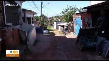 Moradores cobram saneamento básico no Parque Guajará, em Icoaraci, distrito de Belém - Moradores cobram saneamento básico no Parque Guajará, em Icoaraci, distrito de Belém
