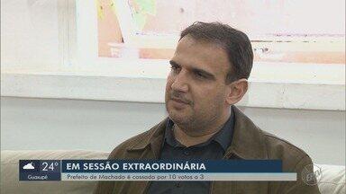 Câmara de Vereadores cassa o mandato de prefeito de Julbert Ferre em Machado - Câmara de Vereadores cassa o mandato de prefeito de Julbert Ferre em Machado