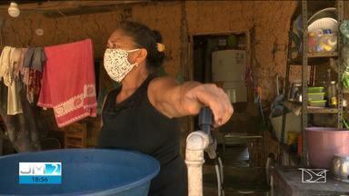 Moradores de comunidade rural em Codó sofrem com a falta de água - O problema não foi resolvido nem mesmo depois de uma nova estação de tratamento e distribuição.