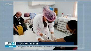 Guaraí começa a testar profissionais de saúde para o coronavírus - Guaraí começa a testar profissionais de saúde para o coronavírus