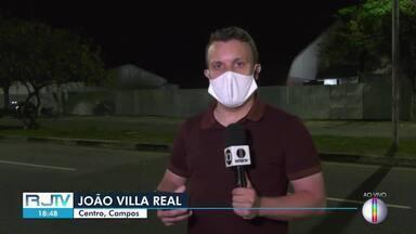 Hospital de campanha de Campos, RJ, começa a ser desmontado nesta quarta-feira - Unidade do Governo do Estado para tratamento de pacientes com a Covid-19 nunca chegou a funcionar.