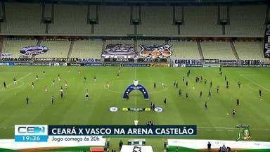 Ceará enfrenta Vasco da Gama na Arena Castelão - Saiba mais no g1.com.br/ce