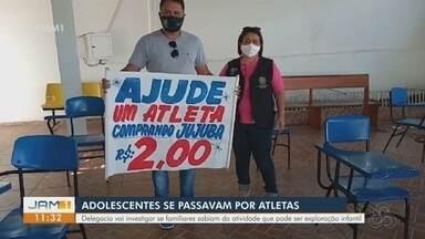 Três adolescentes são abordados por Conselho Tutelar em Manaus - Delegacia vai investigar se familiares sabiam da atividade.