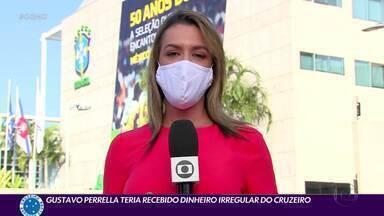 Investigação aponta que Gustavo Perrella teria recebido dinheiro irregular do Cruzeiro - Auditoria interna revelou também que Ivo Gonçalves, pai do garoto Messinho, é contratado do clube