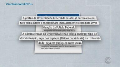Candidata a reitora da UFPel é alvo de ataques racistas em reunião virtual - Assista ao vídeo.