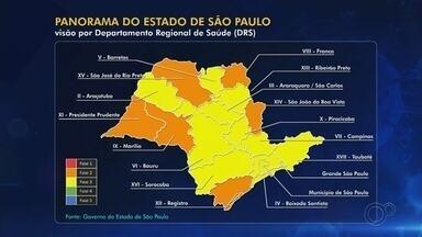 Olímpia avança para fase amarela do Plano SP; Rio Preto segue na laranja - A região do DRS (Departamento Regional de Saúde) de São José do Rio Preto (SP) continuou na fase 2 – a laranja – do Plano SP de flexibilização da quarentena no combate ao novo coronavírus. O anúncio foi feito no início da tarde desta sexta-feira (21) pelo Governo de São Paulo.