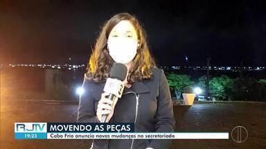 Cabo Frio, RJ, anuncia novas mudanças no secetariado - Publicação foi feita no Diário Oficial desta sexta-feira (21).