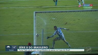 Ponte Preta vence o segundo jogo seguido no brasileirão e já pensa na Copa do Brasil - Time venceu o CSA por 2x1 em jogo disputado pela Série B do Campeonato Brasileiro.