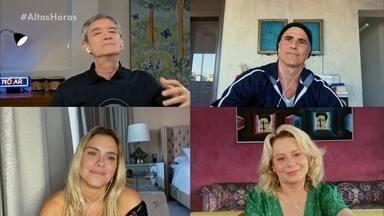 Laços de Família: Carolina Dieckamnn, Vera Fisher e Reynaldo Gianechinni lembram da novela - Serginho conversa com o elenco sobre momentos marcantes da novela de Manoel Carlos