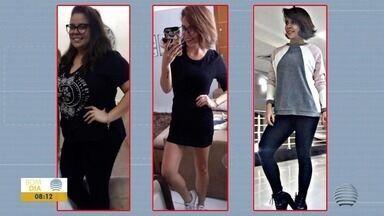 Em 7 meses, mulher elimina 45 kg e ganha bem estar - Confira como foi a rotina saudável da Denize.