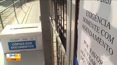 Agência do INSS não abre e beneficiários ficam à espera de atendimento em São Luís - Muitos afirmam que estão há meses sem receber informações sobre o benefício.