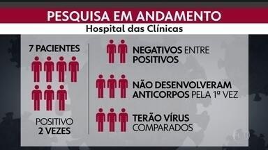 SP2 - Edição de terça-feira, 25/08/2020 - Pacientes relatam casos de reinfecção por Covid-19 em São Paulo. Quadrilha dos falsos leilões é presa na capital.