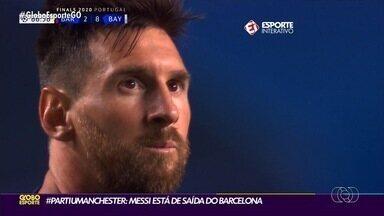Messi pede pra sair do Barça e parece estar a caminho do City - Craque argentino vai deixar clube catalão