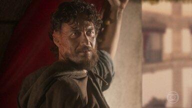 Joaquim tenta impedir que Thomas mate Anna - Thomas afirma que Joaquim precisa escolher entre a vida de Pedro ou Anna