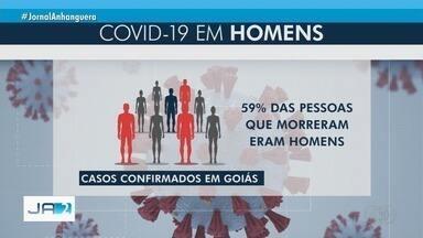 Covid-19 mata mais homens do que mulheres, em Goiás - Descuido cultural com a saúde pode estar entre os motivos.