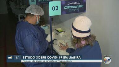 Covid-19: 14,6% da população de Limeira está infectada pela doença, segundo inquérito - Prefeitura divulgou nesta segunda-feira (31) os resultados do inquérito sorológico da cidade.