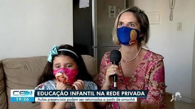 Escolas particulares se preparam para receber alunos nesta terça-feira - Saiba mais no g1.com.br/ce
