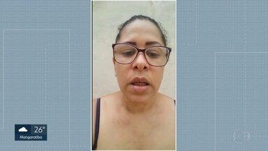 Pacientes reclamam de atendimento em hospitais do Rio - Depois da denúncia, funcionários que tentam impedir o trabalho da imprensa, na porta de hospitais do Rio, desapareceram.