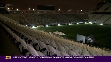 Na festa de aniversário, Corinthians anuncia a venda do nome da Arena - Na festa de aniversário, Corinthians anuncia a venda do nome da Arena