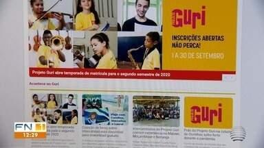 Projeto Guri abre inscrições em cidades da região de Presidente Prudente - Quase duas mil vagas estão disponíveis para crianças e adolescentes.