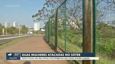 Polícia ouve vítima e faz busca suspeito de ataques em parque de Campo Grande - Polícia ouve vítima e faz busca suspeito de ataques em parque de Campo Grande