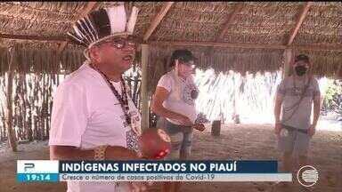 Aumenta o número de indígenas infectados por coronavírus no Piauí - Aumenta o número de indígenas infectados por coronavírus no Piauí