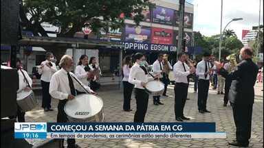 Semana da Pátria começa em Campina Grande - Em tempos de pandemia, as cerimônias estão sendo diferentes.
