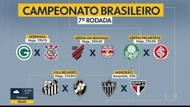 As notícias do esporte com Thiago Oliveira - Quatro times paulistas entram em campo hoje pelo Brasileirão.
