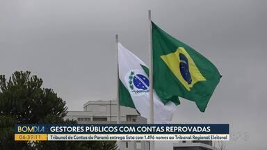 TCE divulga lista com quase 1500 gestores públicos com contas reprovadas - Entre os gestores estão prefeitos e vereadores