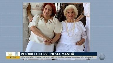 Mãe da vereadora Alba Lucena morre vítima de incêndio em residência - Caso foi no Jardim Bongiovani, em Presidente Prudente.