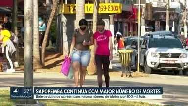 Sapopemba registra o maior número de mortes por Covid-19 na capital há três meses - A região de Sapopemba conta 505 mortes pela doença, até o dia 31 de agosto. A Brasilândia é o segundo distrito com mais mortes, 412. E o Grajaú, o terceiro, com 409 óbitos.