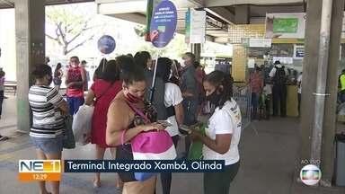 TI Xambá passa a exigir cartão VEM dos passageiros - Grande Recife está implantando integração temporal.