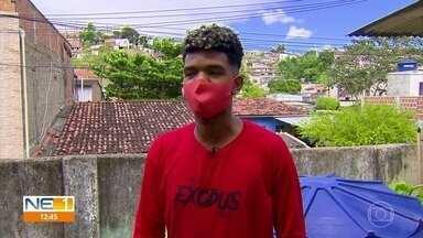 Jovem de Olinda vence batalha de rappers em competição nacional - Rapper de 20 anos venceu na categoria cultura do festival Menos30 Fest, da Globo.