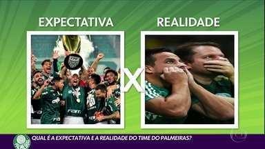 Veja quais são as expectativas e a realidade do time do Palmeiras - Veja quais são as expectativas e a realidade do time do Palmeiras