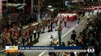 Desfile da Independência é cancelado em Palmas para evitar aglomeração - Desfile da Independência é cancelado em Palmas para evitar aglomeração