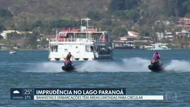 Imprudência no Lago Paranoá - Nossa equipe percorreu a orla do Lago Paranoá e flagrou embarcações desrespeitando os limites de segurança.