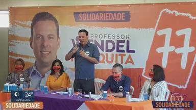 Solidariedade anuncia candidatura à prefeitura de BH - Professor Wendel Mesquita representa o partido na disputa eleitoral.