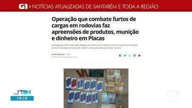 Operação policial em município do oeste do Pará é destaque no G1 Santarém e região - Confira essas e outras notícias pelo celular, tablet e computador.