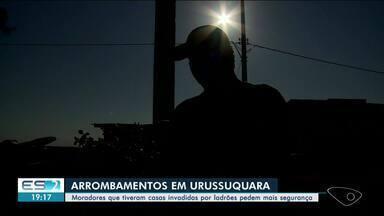 Moradores reclamam de falta de segurança em São Mateus, no ES - Assista a seguir.