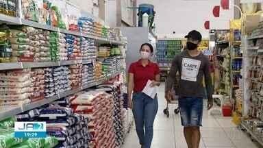 Preço do arroz, feijão e outros produtos da cesta básica aumenta em Palmas - Preço do arroz, feijão e outros produtos da cesta básica aumenta em Palmas