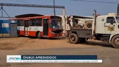Porto Velho amanhece mais uma vez sem transporte coletivo - Ônibus do Consórcio SIM são apreendidos após decisão da Justiça de Minas Gerais.