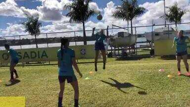 Minas enfrenta o Audax pelo Brasileirão Feminino - As dez jogadoras que testaram positivo para Covid-19 já se recuperaram.