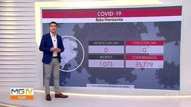 Média de mortes em Belo Horizonte sobe quase 80% - Comparação dos últimos 14 registros da Secretaria Estadual de Saúde mostra elevação.