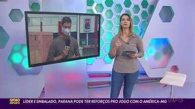 Confira a íntegra da edição do Globo Esporte-PR desta terça-feira, 8/9 - Confira a íntegra da edição do Globo Esporte-PR desta terça-feira, 8/9