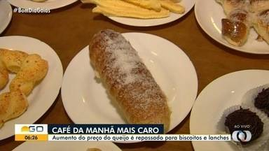 Preço do queijo aumenta e surpreende consumidores de Goiás - Entenda o que está por trás dessas altas nos preços dos alimentos.