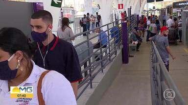 Funcionamento da Estação Petrolândia é suspenso após reclamações de passageiros - Veja como foi o último dia de operação do terminal, que fica em Contagem, na Grande BH.